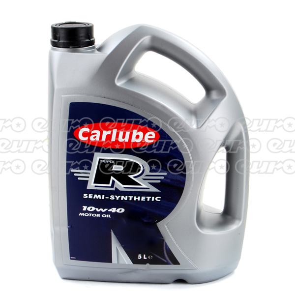 Carlube Triple R 10W40 Semi Synthetic Engine Oil (5 Litre)