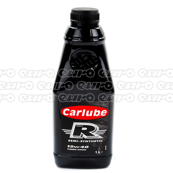 Carlube Triple R 15W40 Diesel Semi Synthetic Engine Oil (1 Litre)
