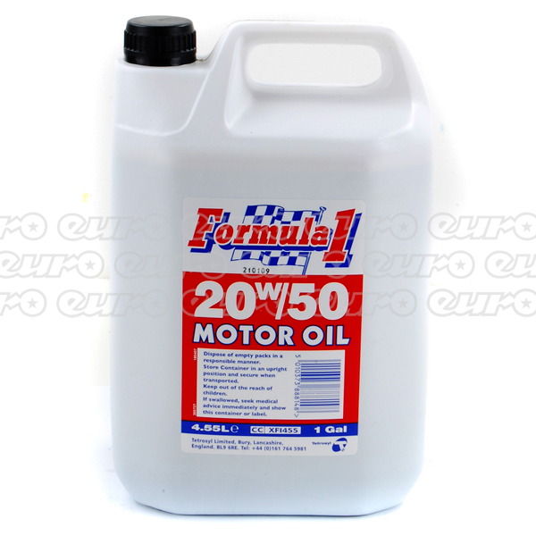 Carlube Formula One 20W50 Engine Oil (4.55 Litre)