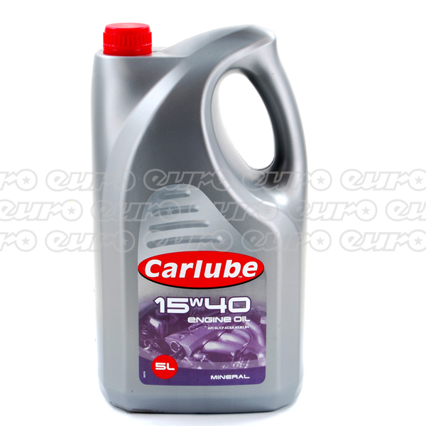 Carlube 15W40 Mineral Engine Oil (5 Litre)