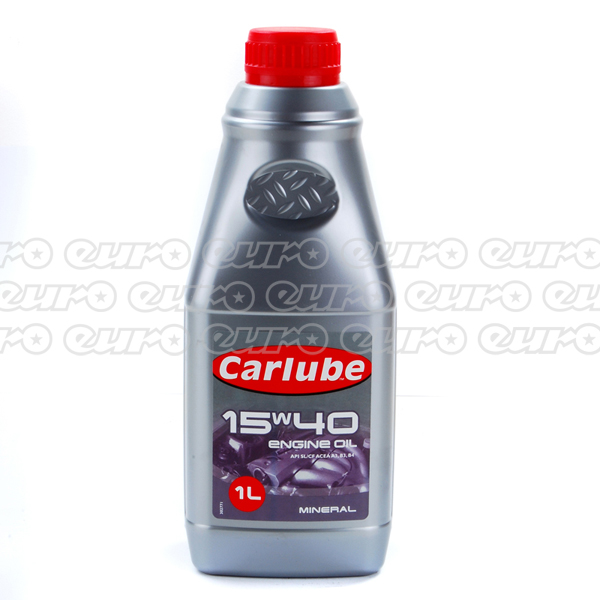 Carlube 15W40 Mineral Engine Oil (1 Litre)