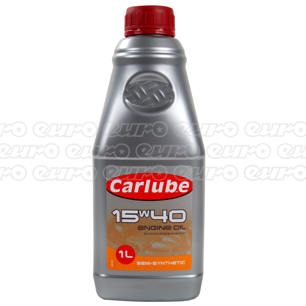 Carlube 15W40 Diesel Semi Synthetic Engine Oil (1 Litre)
