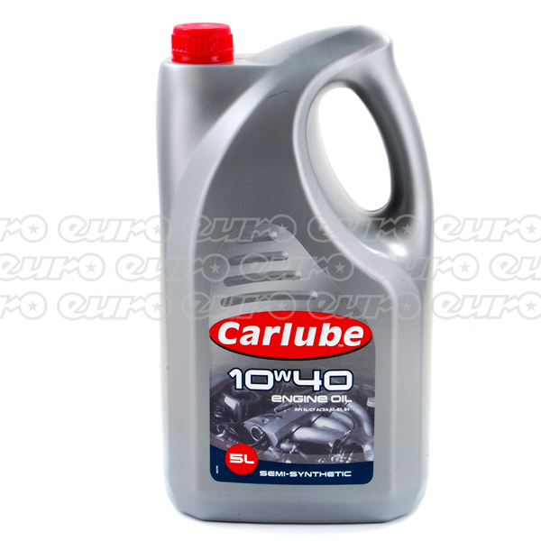 Carlube 10W40 Semi Synthetic Engine Oil (5 Litre)