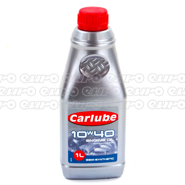 Carlube 10W40 Semi Synthetic Engine Oil (1 Litre)