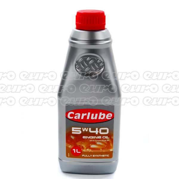 Carlube 5W40 Fully Synthetic Engine Oil (1 Litre)