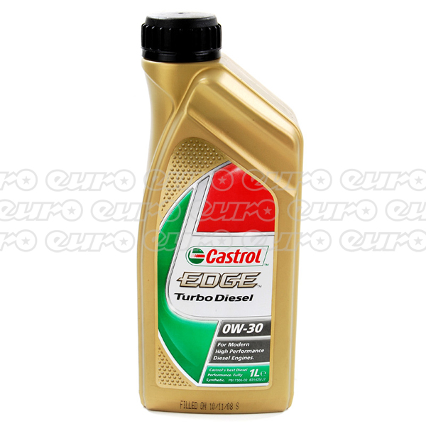 Castrol Edge Turbo Diesel Fully Synthetic 0W30 Engine Oil (1 Litre)