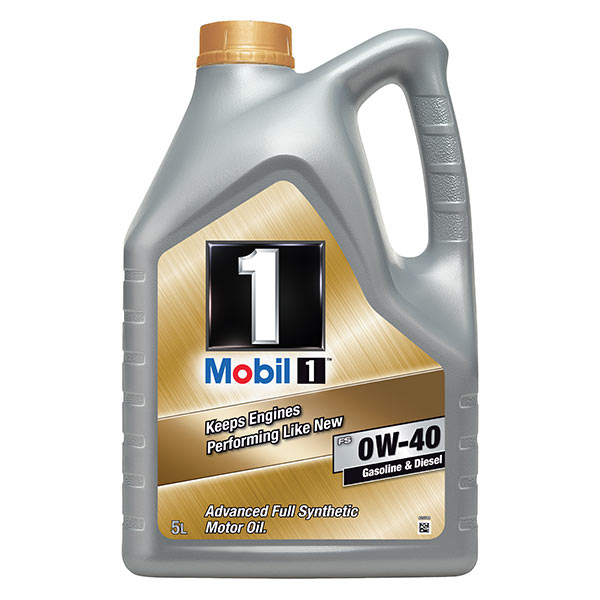 Mobil 1 New Life Engine Oil - 0W-40 - 5ltr