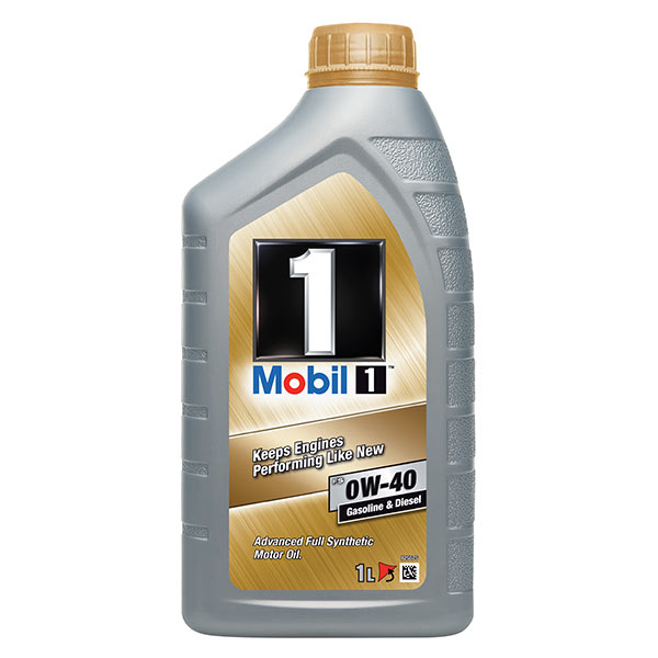 Mobil 1 New Life Engine Oil - 0W-40 - 1ltr