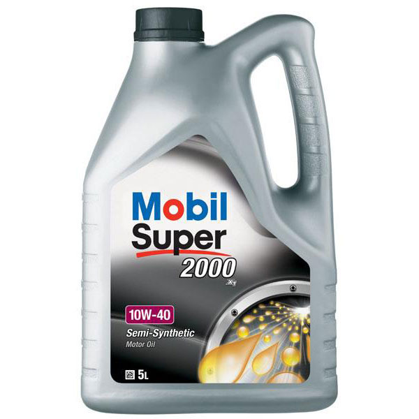 Mobil Super 2000 X1 Engine Oil - 10W-40 - 5ltr