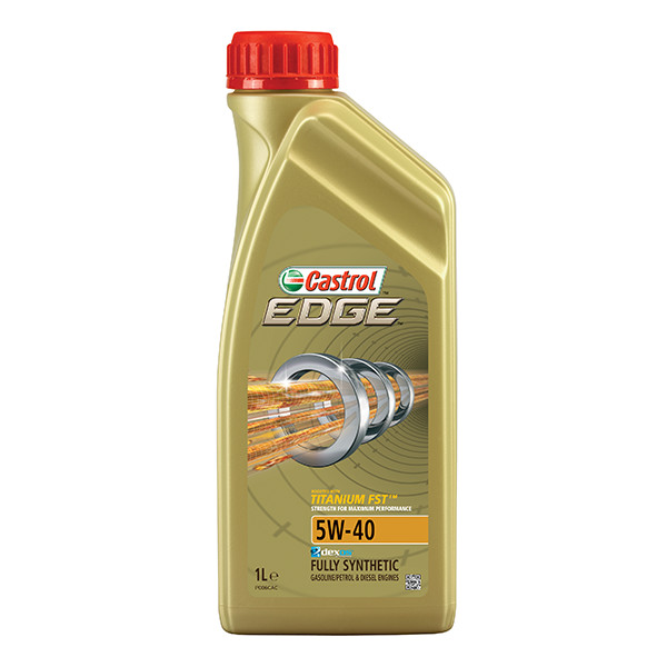 Castrol Edge 5W-40 With Titanium FST Fully Synthetic 1Ltr