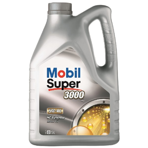 Mobil Super 3000 X1 Engine Oil - 5W-40 - 5ltr