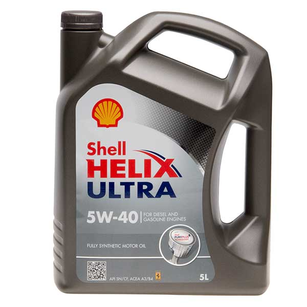 Shell Helix Ultra Engine Oil - 5W-40 - 5ltr