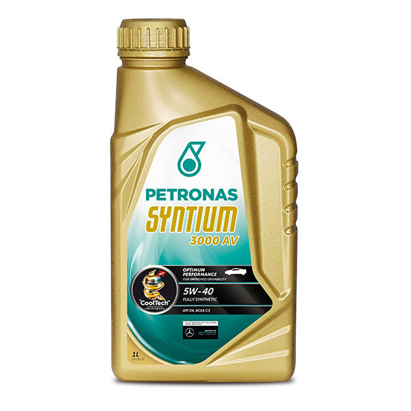 Petronas syntium 3000 av pd engine oil 5w 40 1ltr for 5 w 40 motor oil