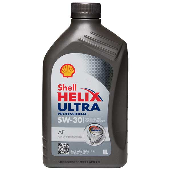 Shell Helix Ultra Professional AF Engine Oil - 5W-30 - 1ltr