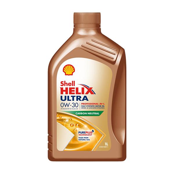 Shell Helix 0W-30 Ultra Professional AV-L - 1Ltr