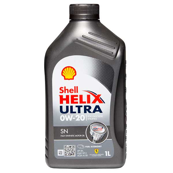 Shell Helix Ultra SN Engine Oil - 0W-20 - 1ltr