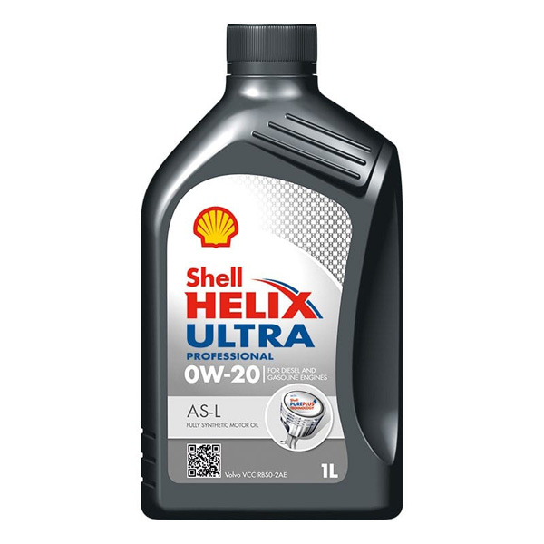 Shell Helix Ultra Professional AS-L 0W-20 - 1Ltr