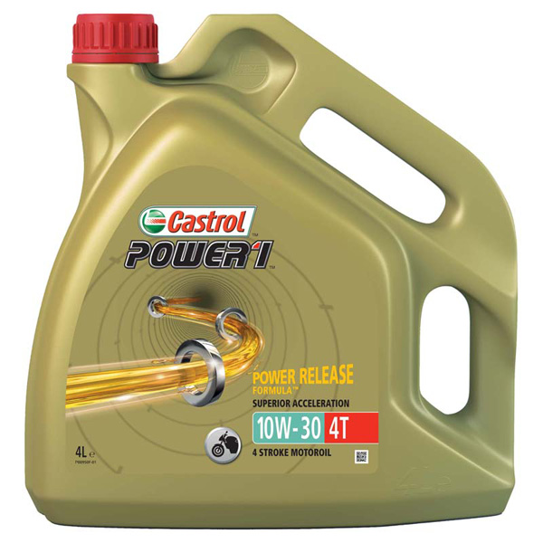 Castrol Power1 10W-30 4T Motorcycle 4 Stroke - 4Ltr