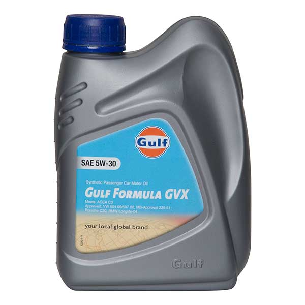 Gulf Formula GVX Engine Oil - 5W-30 - 1ltr