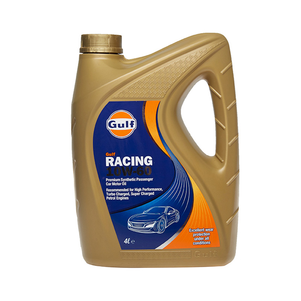Gulf Racing Engine Oil - 10W-60 - 4ltr