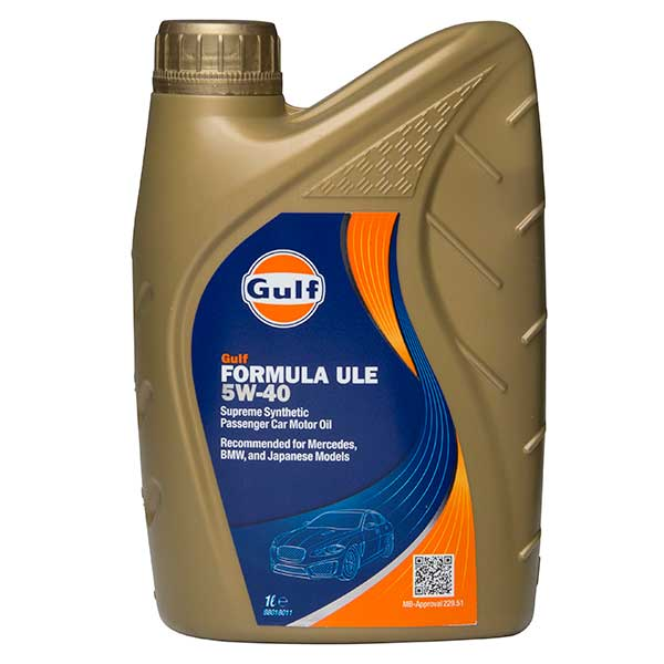Gulf Formula ULE Engine Oil - 5W-40 - 1ltr
