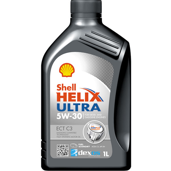 Shell Helix Ultra ECT (C3) Engine Oil - 5W-30 - 1ltr