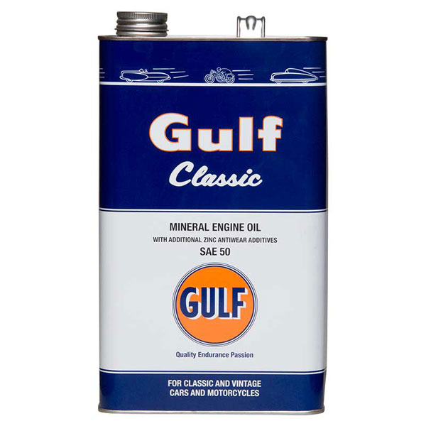 Gulf Classic Engine Oil - SAE50 - 5Ltr