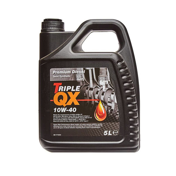 TRIPLE QX 10w40 Diesel SemiSyn Engine Oil 5ltr