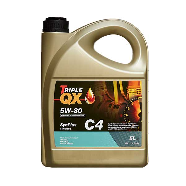 TRIPLE QX SynPlus Fully Syn 5w30 C4 Engine Oil - 5ltr