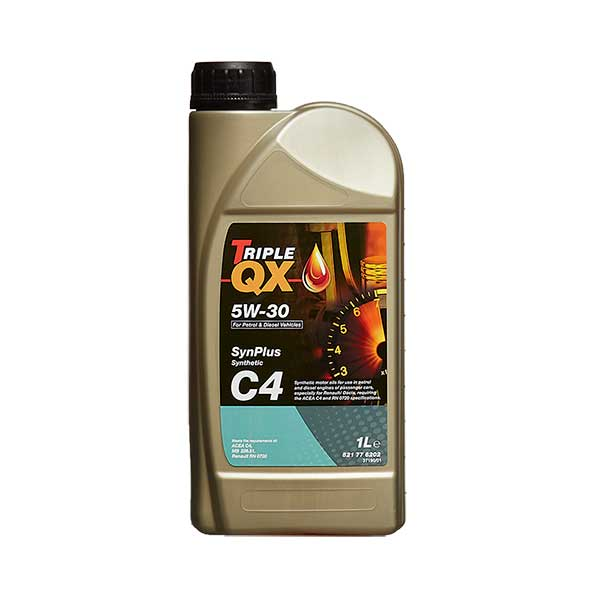 TRIPLE QX SynPlus Fully Syn 5w30 C4 Engine Oil - 1ltr