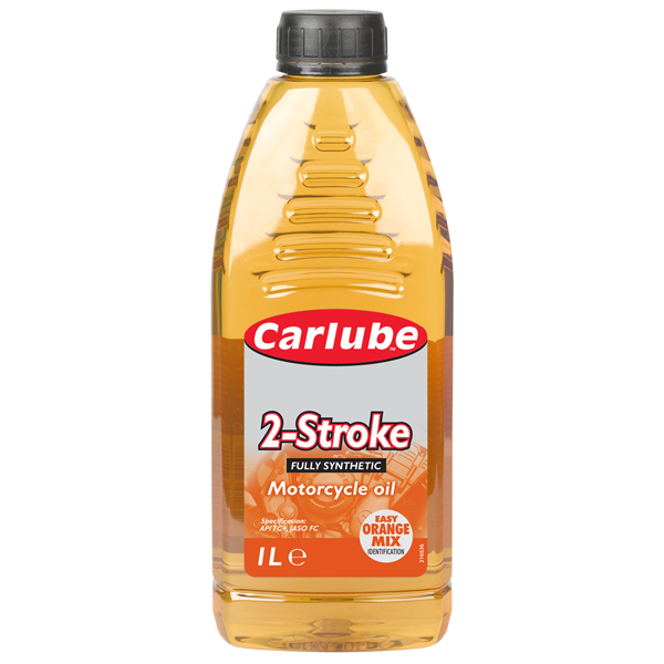 Carlube 2 Stroke Motorcycle Oil - Fully Synthetic 1L