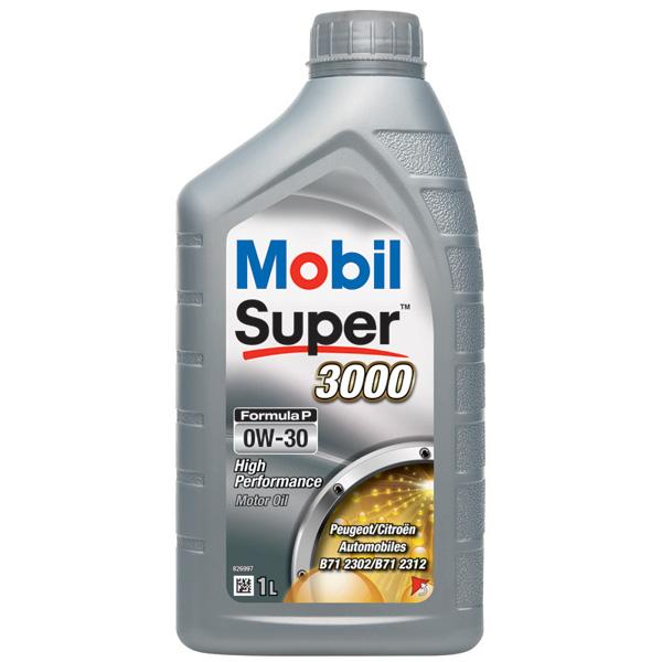 Mobil SUPER 3000 0W-30 Formula-P - 1Ltr