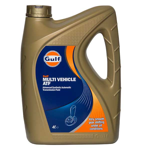 Gulf MULTI VEHICLE ATF - 4 ltr
