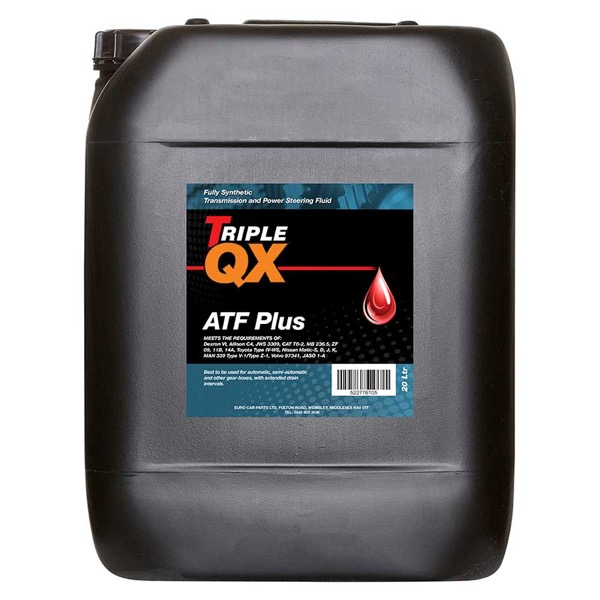 TRIPLE QX ATF Plus Transmission Fluid 20 Litre