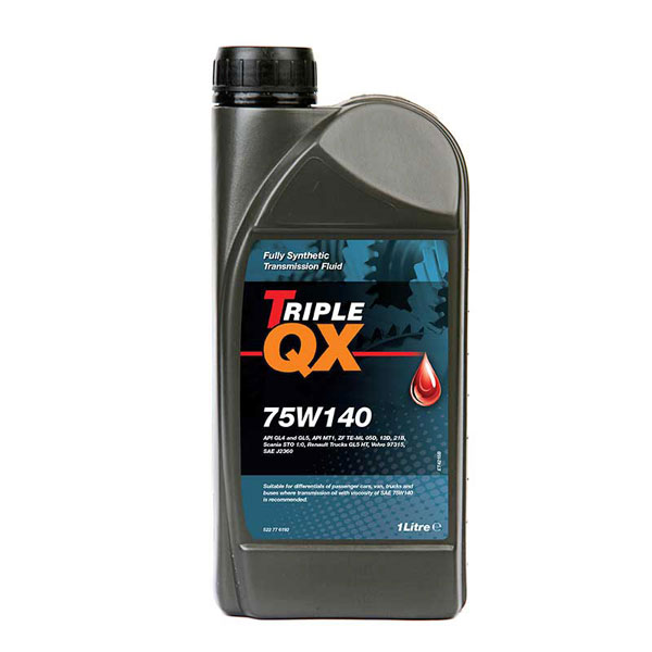 TRIPLE QX Fully Synthetic 75w140 - 1 ltr