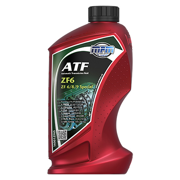 MPM ATF Automatic Transmission Fluid ZF6 Special 1Ltr