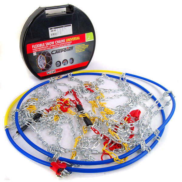 Carpoint Standard Snow Chains - 12mm (KN40)