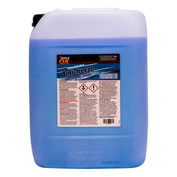 Blue Antifreeze & Coolant Screenwash