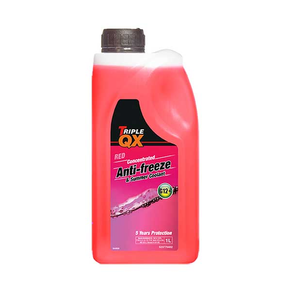 TRIPLE QX Red (Concentrate) Antifreeze/Coolant 1Ltr