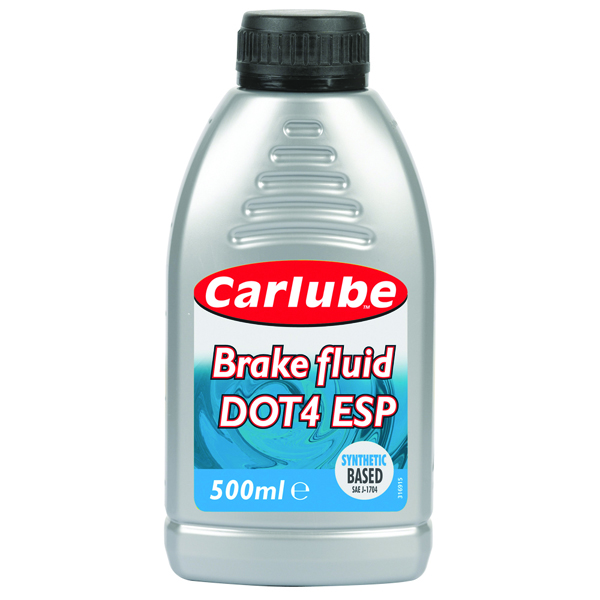 Carlube Dot 4 ESP Brake Fluid 500ml