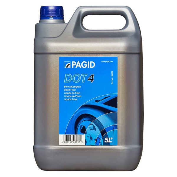 Pagid Dot4 Brake Fluid - 5ltr
