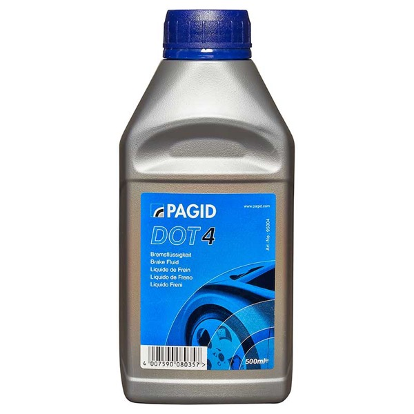 Pagid Dot4 Brake Fluid 500ml Euro Car Parts