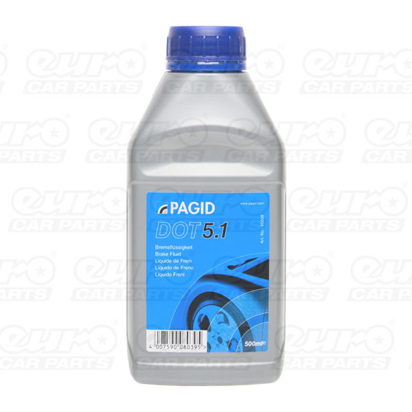 Pagid Dot5.1 Brake Fluid - 500ml