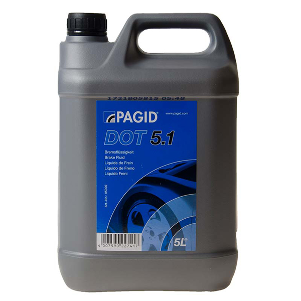 Pagid Dot5.1 Brake Fluid - 5ltr
