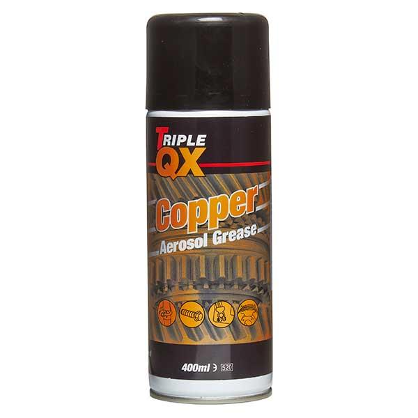 Triple Qx Copper Grease 400ml Aerosol Can Euro Car Parts Ie