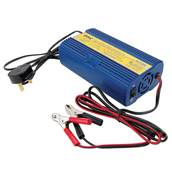 DHC 12v Intelligent Battery Charger - 2 Amp and 12Amp