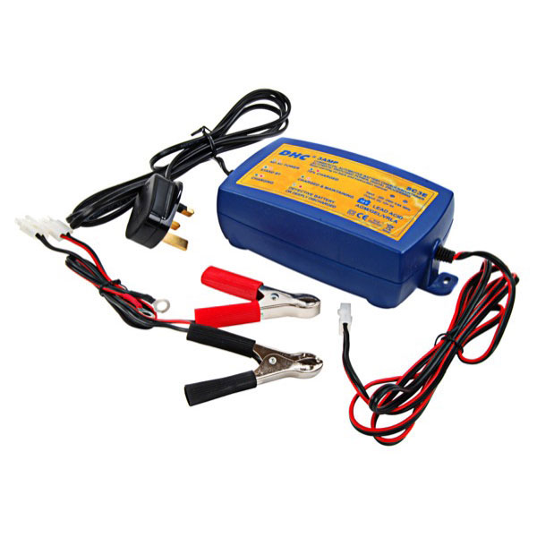 DHC 12v Intelligent Battery Charger - 1.5 Amp