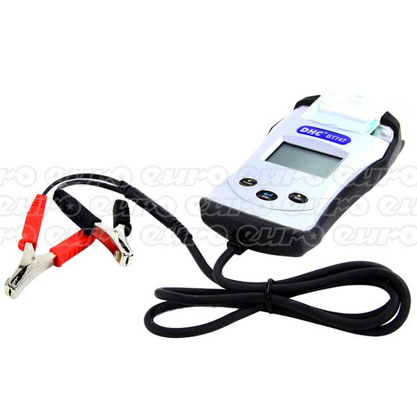 Euro Car Parts Digital Battery Analyzer (Battery,Alternator,Starter) With Printer