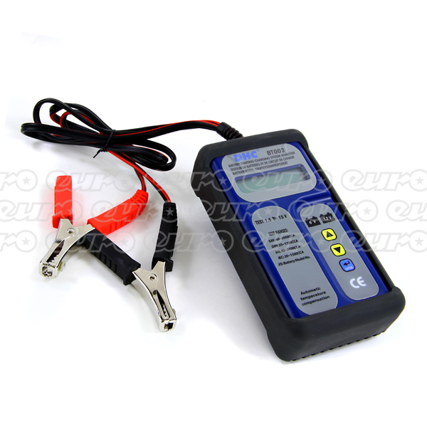 Euro Car Parts Digital Battery Analyzer (Battery, Alternator, Starter) 40-2000 CCA