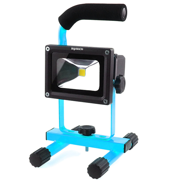 Top Tech Rechargable 10w Portable Flood Light